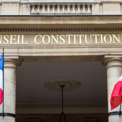 consiglio costituzionale francese
